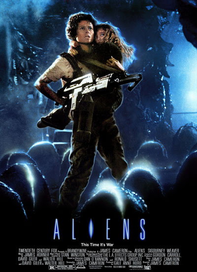 James Cameron Aliens Poster Affiche
