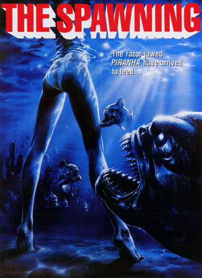 James Cameron Piranha2 Poster Affiche