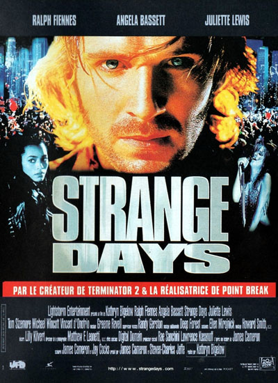 James Cameron Strange Days Poster Affiche