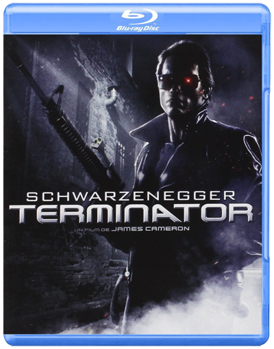 James Cameron Terminator Blu-ray Poster Affiche