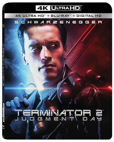 James Cameron Terminator 2 Blu-ray Poster Affiche