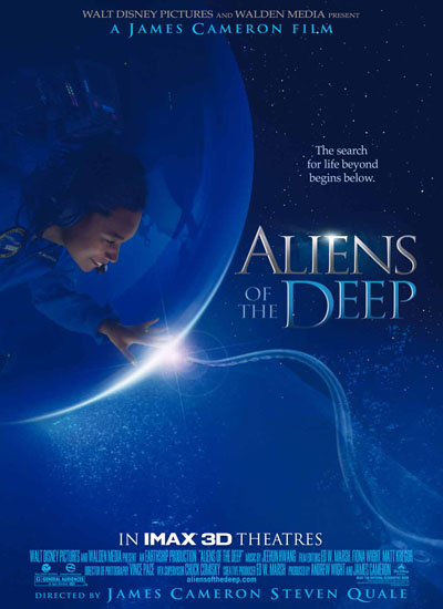 James Cameron Aliens Of The Deep Poster Affiche