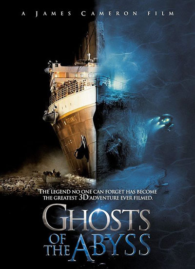James Cameron Ghosts Of The Abyss Poster Affiche