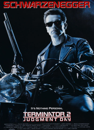 James Cameron Terminator 2 Judgment Day Poster Affiche